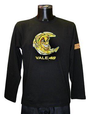 camiseta manga larga Valentino Rossi sol/luna