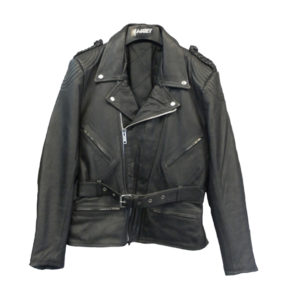 chaqueta piel moto estilo perfecto