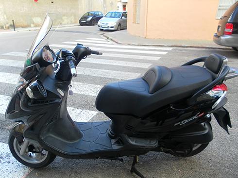 KYMCO GRAND DINK 125 MOTO DE OCASIÓN
