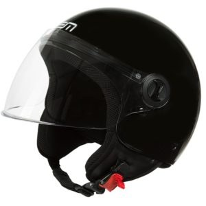 CASCO LEM ROGER ECO NEGRO BRILLO