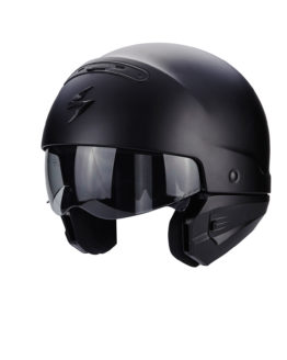 cascos motorista negro mate
