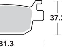pastillas de freno sbs para moto 193ms