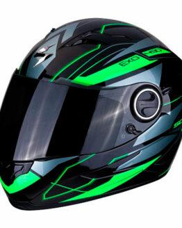 casco scorpion nova green
