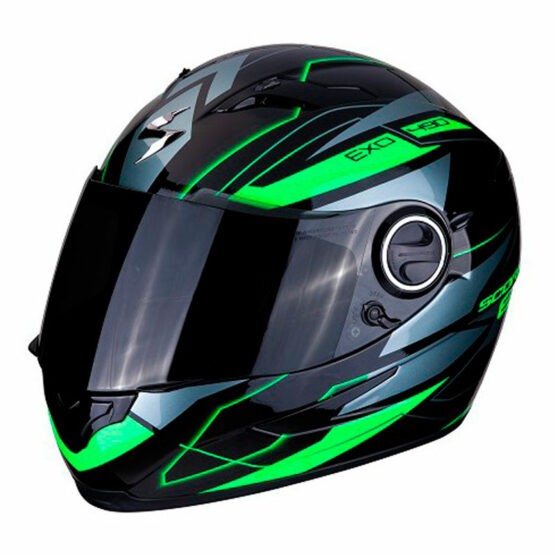 casco scorpion nova green