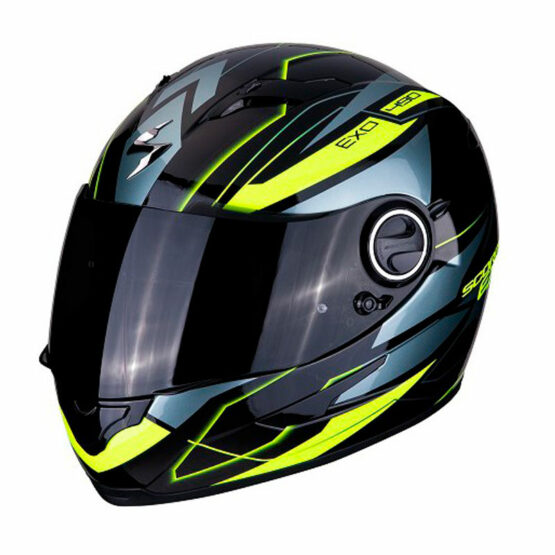 casco scorpion nova groc